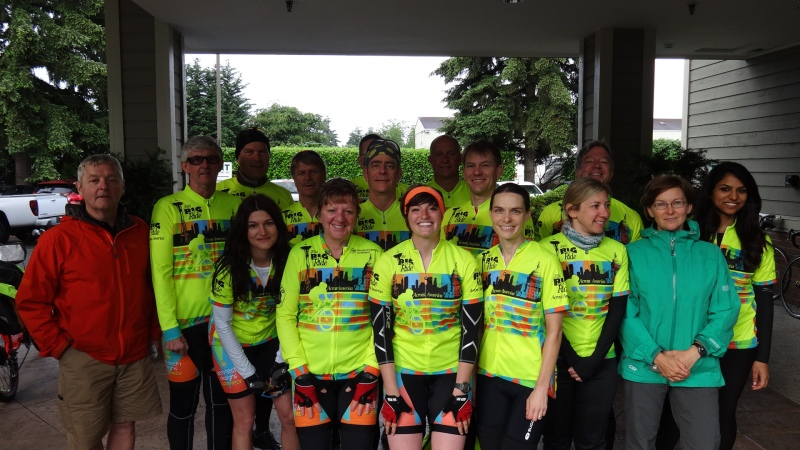 big riders on day one