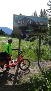Entering State #3 on Big Ride