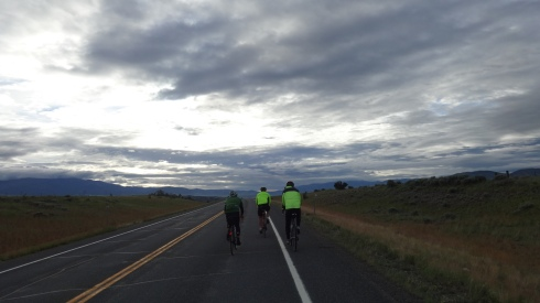 Sunrise cycling