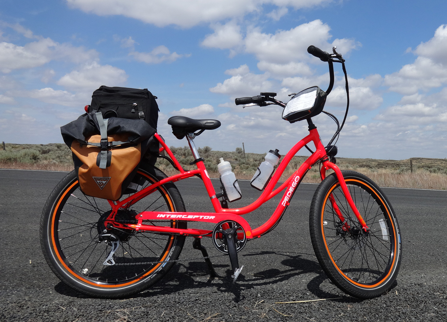 Pedego Electric Bicycle Battery Cathy S Big Ride Across