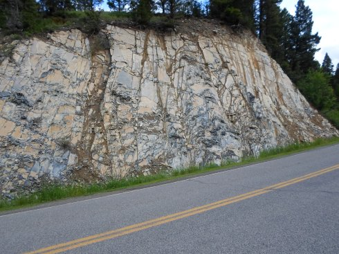 How does rock like this form in nature?