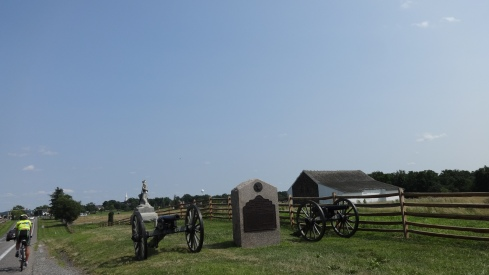 Gettysburg - Just two more riding days!